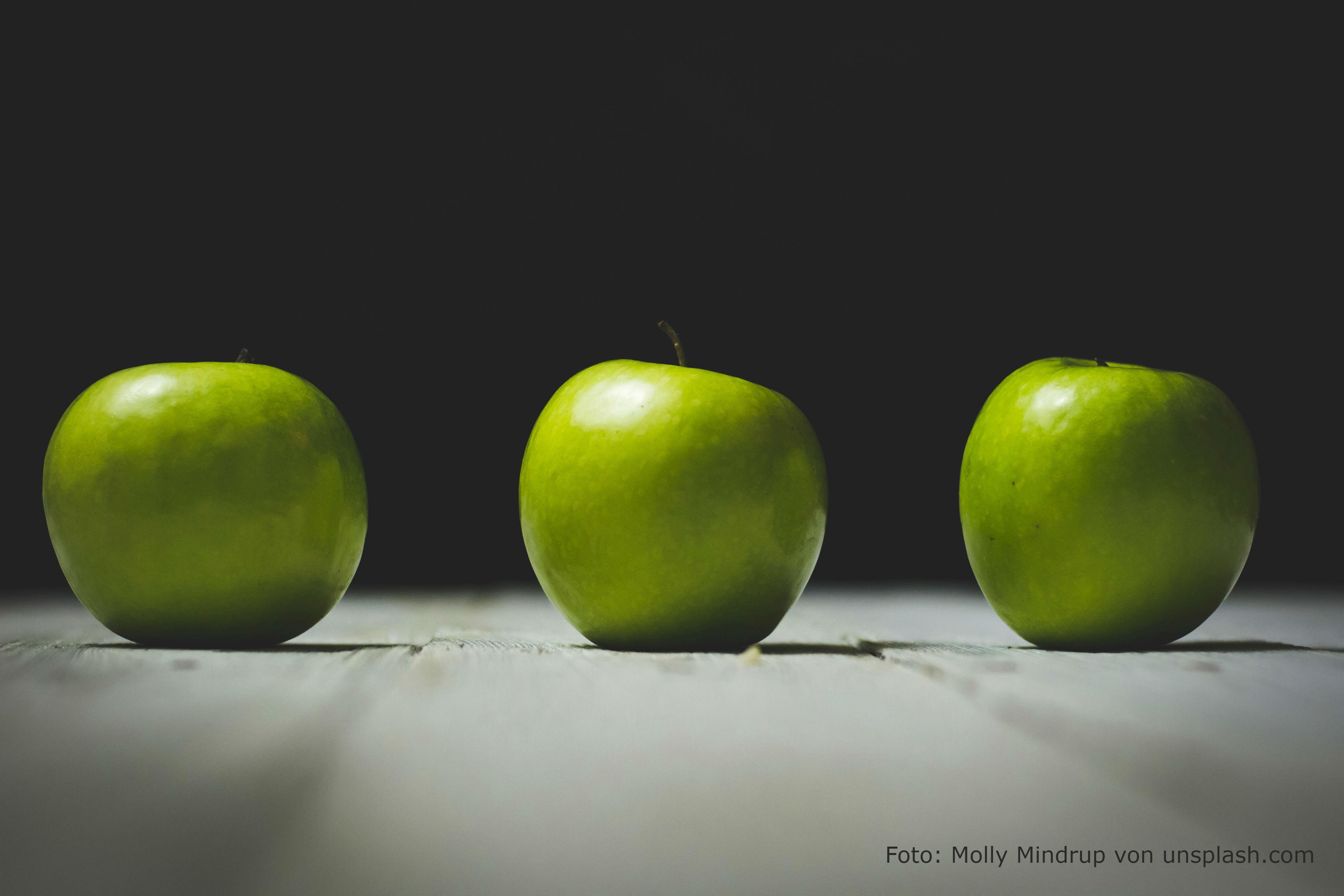 Hält ein Apfel pro Tag wirklich gesund?