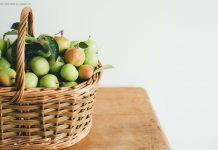 Herbstfrüchte und Krankheitvorbeugung
