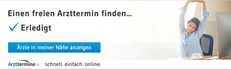 Arzttermine.de Online Termine buchen